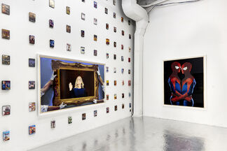 """Eric Yahnker """"Factory Reset"""", installation view"""