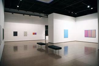 "Julian Stanczak - ""Lineal Pathways"", installation view"