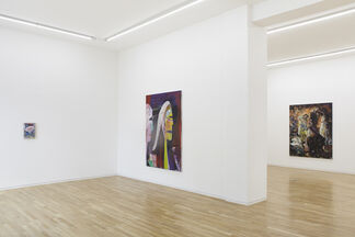 Your Mask (Part III: Don't Forget Your Mask): Lutz Braun, Matthias Dornfeld, Ioan Grosu, Erwin Pfrang, Paula Rego, installation view