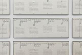 Zeichen der Zeit / Zeit der Zeichen - Sign of the Times / Times of the Sign, installation view