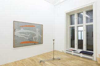 """Bruno Gironcoli, Hans Schabus """"NÄCHSTE TÜRE LÄUTEN!"""", installation view"""