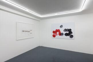 Pencil / Line / Eraser, installation view