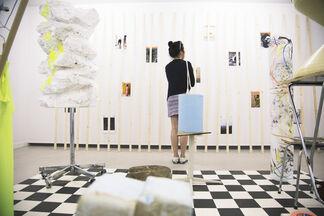 Isabelle Wenzel - UNERNSTES UNTERFANGEN, installation view