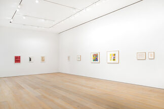Group Show: Paintings on Paper, installation view