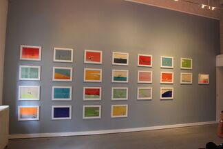 Allison Bianco: The Baby Powder Trick at The Print Center, Philadelphia, installation view