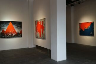 Hu Weiqi: Entangled in Reality 胡卫齐//博弈, installation view
