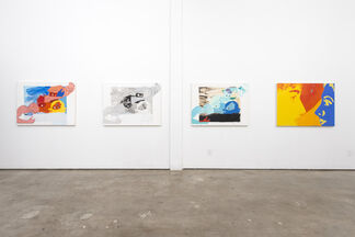 """Christiane Lyons """"A Good Line: Can't Live Without You"""", installation view"""