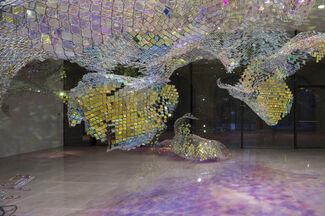 Unwoven Light, installation view