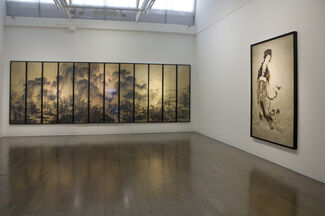 The Encroachment, installation view