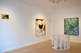 Selected paintings by..., installation view