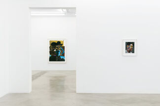 Nathaniel Mary Quinn: Soundtrack, installation view