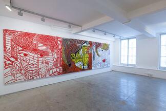 Boris Nzebo, Prince de Ville, installation view