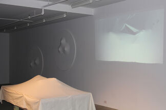 Performance with Melissa Guerrero, installation view