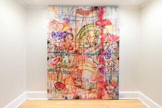 Jutta Koether / Philadelphia, installation view