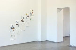 Beginnings, installation view