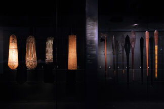 The Radiance of Shadows: Art in Black and White from the Solomon Islands, installation view