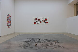 Lines in Space – three approaches to the drawing, installation view