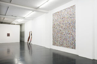 Hunting in the Valley of Color and Plastic, installation view