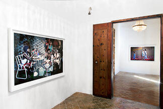 Kudzanai Chiurai - Front Page, installation view
