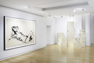 Le fil rouge, installation view