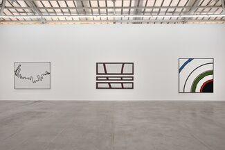 Bertrand Lavier: Walt Disney Productions 1947 - 2013, installation view
