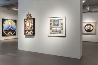 Paul Laffoley: The Force Structure of the Mystical Experience, installation view