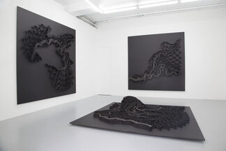 Ella Littwitz - And a third of the waters became wormwood, installation view