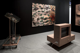 Empty Gallery at The Armory Show 2018, installation view