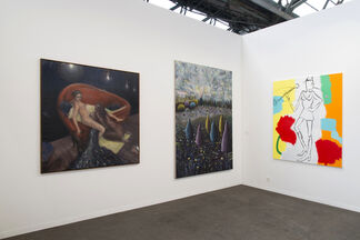 Albert Baronian at Art Brussels 2018, installation view