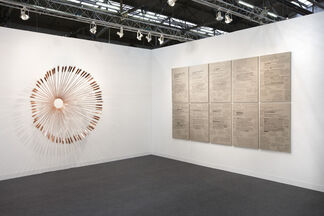 Honor Fraser at Armory Show 2013, installation view