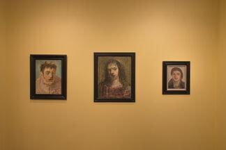 Nicolas Carone: Imaginary Portraits, installation view