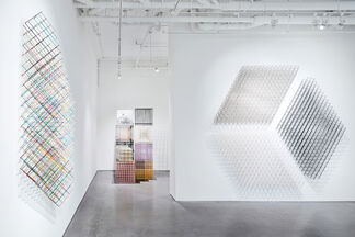 Alois Kronschlaeger: Polychromatic Structures, installation view