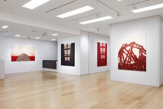 Tony Bevan, installation view
