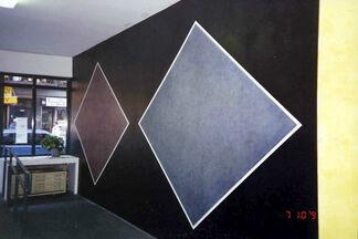 Redrawing Sol LeWitt, Wall Drawing #731, installation view