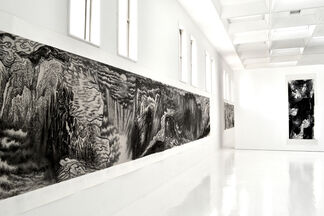 Yu Hanyu: Force of Nature, the Power of the Brush, installation view