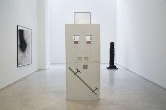 Huma Bhabha, installation view