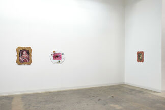 Annelie McKenzie: Man in Canoe and Grizzly, installation view