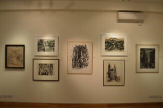 David Bomberg and his students at the Borough Polytechnic, installation view
