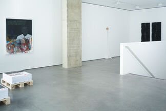 Living Just Enough, installation view