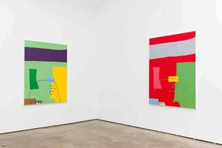 Meg Cranston: Same Composition, Different Hues, Different Titles, installation view