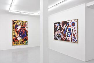 A travers A.R. Penck, installation view