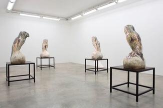 Johan Creten: The Vivisector, installation view