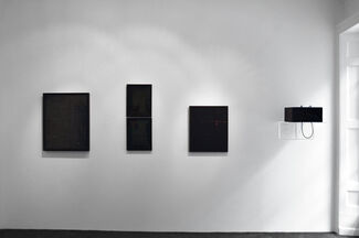 Cosmic pulses, installation view