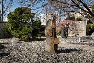 Solid Doubts: Robert Stadler at The Noguchi Museum, installation view