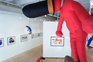 Gosha Levochkin: OVERWORSHIPPED, installation view