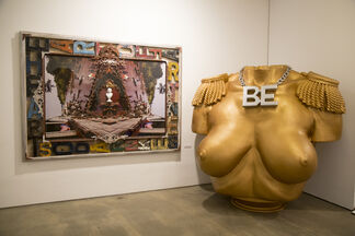 If WORDS Could SPEAK: A Solo Show by Artist Laura Kimpton, installation view