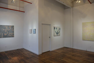 Zachary Keeting - recent paintings and Clare Grill - Steeped, installation view