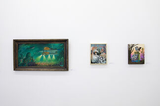 Of Scales & Feathers, installation view