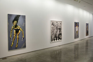 Black and White, installation view
