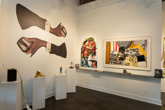 BLACK BLOODED, installation view